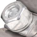 Spojovací spona na výfuk 57mm (2.25 palce) - nerezová Noname