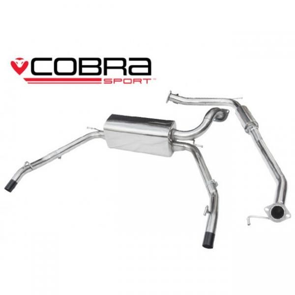 Catback výfuk Cobra Sport Honda Civic FN2 Type-R (07-12) - verze s rezonátorem