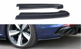 Boční spoiler pod zadní nárazník Audi RS4 B9 Avant 2017 -