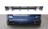Středový spoiler pod zadní nárazník Audi RS4 B9 Avant 2017 -