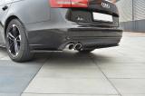 Boční spoiler pod zadní nárazník Audi A6 C7 Sedan/Avant 2011-2014