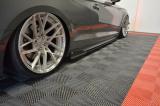 Nástavce prahů Audi S5 F5 Coupe 2017 - Audi A5 S-Line F5 Coupe 2017 -