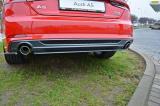 Středový spoiler pod zadní nárazník Audi A5 S-Line F5 Coupe/Sportback 2016 - Maxtondesign