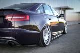 Boční spoiler pod zadní nárazník Audi A6 S-Line C6 Sed./Ava. 04-08  A6 S-Line C6 FL Sed./Ava. 08-11