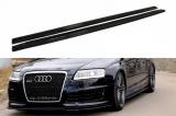 Nástavce prahů Audi RS6 C6 2008-2010