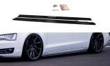 Nástavce prahů Audi A8 D4 2009- 2013