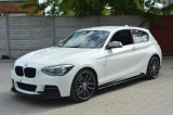 Spoiler pod přední nárazník BMW 1 F20/F21 M-Power 2011 - 2015 Maxtondesign