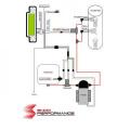 Vstřikování vody a metanolu Snow Performance - stage 3 N/A EFI DST (LCD)