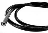 Teflonová hadice pro brzdovou soustavu s nerezovým a PVC opletem D-03