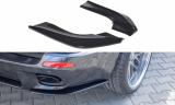 Boční spoiler pod zadní nárazník BMW X5 E70 Facelift M-pack 2010-2013