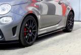 Nástavce prahů FIAT 500 ABARTH MK1 FACELIFT 2016-