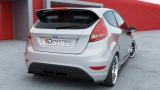 Boční spoiler pod zadní nárazník Ford Fiesta mk7 ST / STLINE / ZETEC S version 2008 - 2013 Maxtondesign