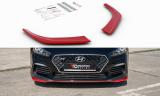 Přední spoilery nárazníku Hyundai I30 N Mk3 Hatchback / Fastback 2017 -