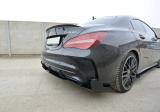 Boční spoilery pod zadní nárazník Mercedes CLA A45 AMG C117 Facelift 2017-