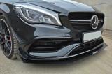 Přední spoiler nárazníku Mercedes CLA A45 AMG C117 Facelift 2017-