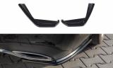 Boční spoilery pod zadní nárazník Mercedes-Benz E43 AMG W213 2016-2018