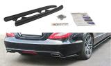 Boční spoilery pod zadní nárazník Mercedes CLS C218 2011- 2014