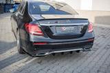 Boční spoilery pod zadní nárazník Mercedes-Benz E-Class AMG-Line W213 2016- Maxtondesign