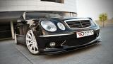 Přední spoiler nárazníku Mercedes E W211 AMG Preface model: 2002 - 2006