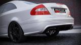 Zadní nárazník Mercedes CLK-Class W209 Standard Versions 2002-2009