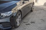 Nástavce prahů Mercedes-Benz E-Class AMG-Line W213 2016- Maxtondesign