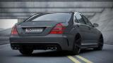 Zadní nárazník+Zadní difuzor Mercedes S W221 2005 - 2013