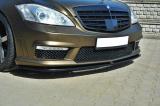 Přední spoiler nárazníku Mercedes S W221 AMG Facelift version 2009 - 2013