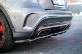 Středový spoiler pod zadní nárazník MERCEDES-BENZ GLA 45 AMG SUV (X156) PREFACE (2014-2017)