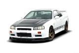 Přední difuzor Nissan Skyline R34 version GTT vith 002299-1 bumper 1998-2002