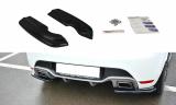 Boční spoilery pod zadní nárazník RENAULT CLIO MK4 RS 2013- 2019