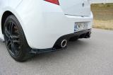 Boční spoilery pod zadní nárazník RENAULT CLIO MK3 RS FACELIFT 2009- 2012
