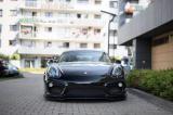 Přední spoiler nárazníku Porsche Cayman Mk2 981 Coupe 2012-