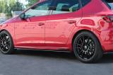 Nástavce prahů Seat Leon Mk3 Cupra/ FR Facelift 2017-