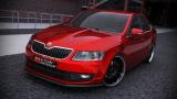 Přední spoiler nárazníku Škoda Octavia mk3 Standard version 2013 -