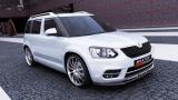 Přední spoiler nárazníku Škoda Yeti CITY version 2013 -