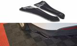 Boční spoilery pod zadní nárazník TESLA MODEL X 2015-