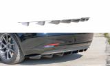 Středový spoiler pod zadní nárazník Tesla Model 3 2017-