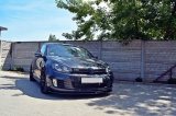 Přední spoiler nárazníku VW Golf VI GTI 2008-2012