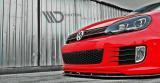 Přední spoiler nárazníku VW Golf VI GTI 35TH 2008-2012