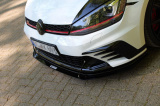 Přední spoiler nárazníku VW GOLF VII GTI CLUBSPORT 2016 - 2017