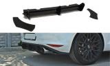 Boční spoilery pod zadní nárazník+Zadní difuzor VW Golf mk7 GTI version 2012 -