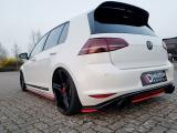 Boční spoilery pod zadní nárazník VW GOLF Mk7 GTI CLUBSPORT 2016- 2017