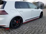 Nástavce prahů VW GOLF Mk7 GTI CLUBSPORT 2016- 2017