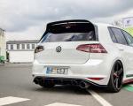 Středový spoiler pod zadní nárazník VW GOLF Mk7 GTI CLUBSPORT 2016- 2017