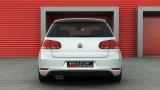 Středový spoiler pod zadní nárazník VW Golf VI GTI 2008 - 2012