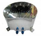 Závodní hliníková palivová nádrž 20l (racing fuel tank) - oválná