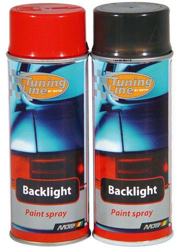 Lak Motip Backlight na tónování světel 400ml - černý