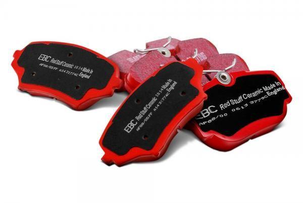 Zadní brzdové destičky EBC Redstuff na Chrysler / Dodge 300C 3.5 (04-11) EBC Brakes