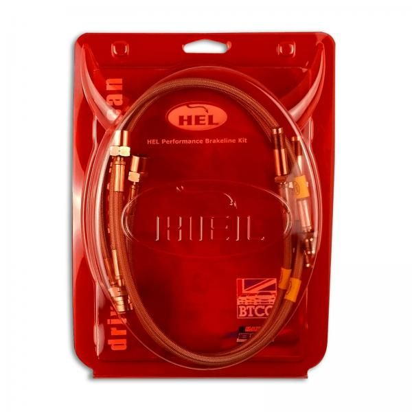 Brzdové hadice Hel Performance na Ford Mondeo Mk3 3.0 (04-07)