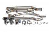 Středové díly výfuku TurboWorks BMW F80 M3 / F82 / F83 M4 (14-)